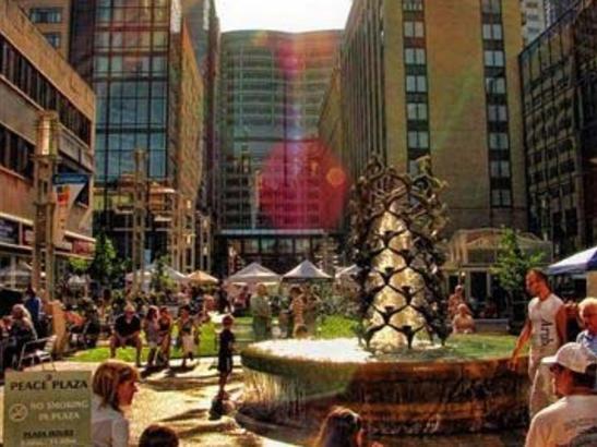 Peace Plaza by Chad Johnson