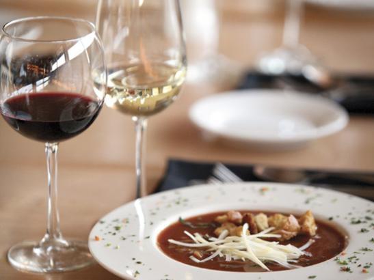Soup + Wine | credit olivejuicestudios.com