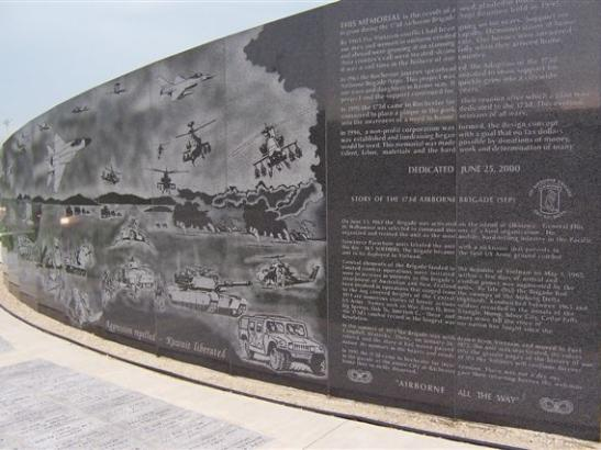 A memorial wall created to honor Veterans from Southeast Minnesota