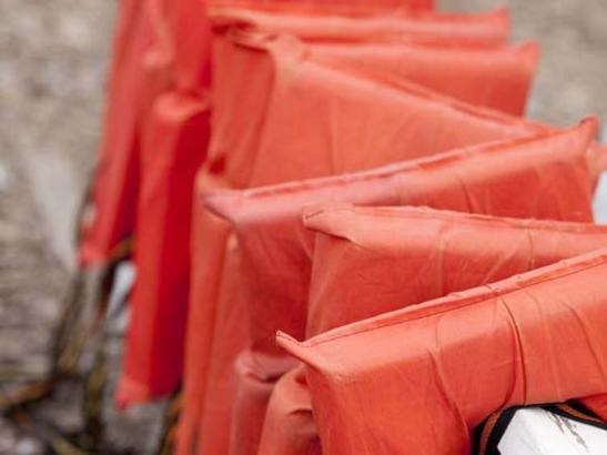 Life jackets | credit olivejuicestudios.com