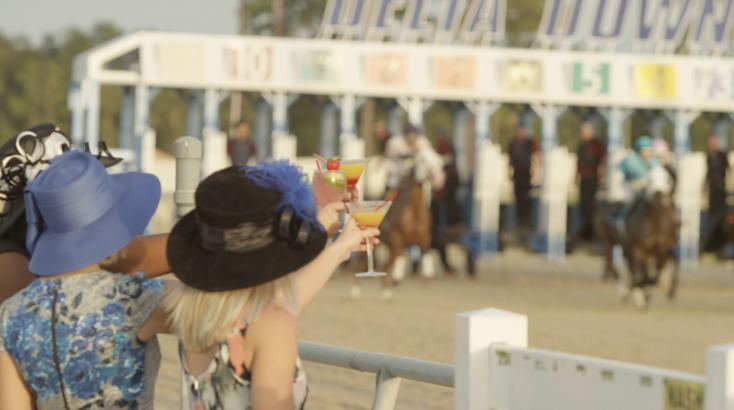 Enjoy an evening of horse-racing excitement at Delta Downs!