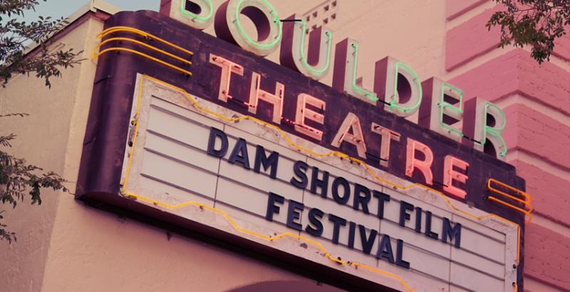 16th Annual Dam Short Film Festival - Cover Photo