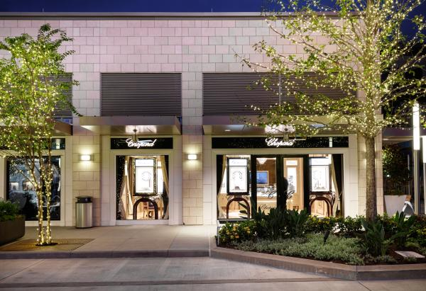 Chopard at River Oaks Shopping District in Houston Texas