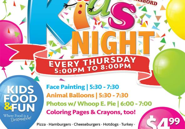 Shady Maple Kids Night