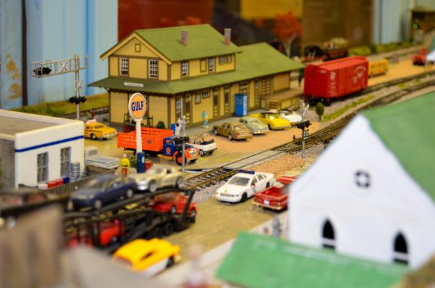 Children's Museum Train Room | Lake Charles, LA