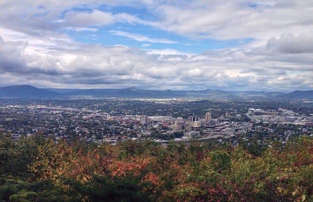 Mill Mountain Overlook - Fall Photo