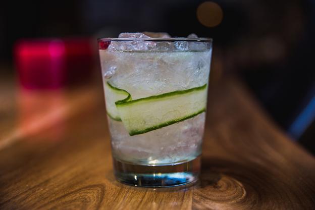 White Linen Cocktail at Ember