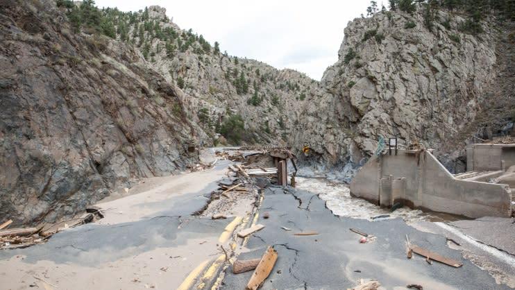 US 34 Damage