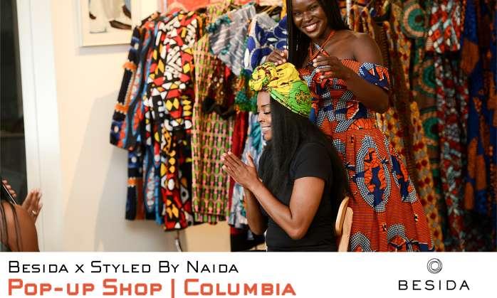 Besida African Print Holiday Pop-Up Shop