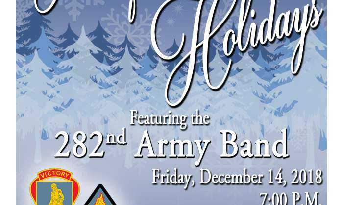 Home for the Holidays with the 282nd Army Band