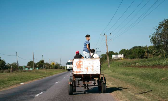 Among Strangers: Cuba and Saluda in Conversation