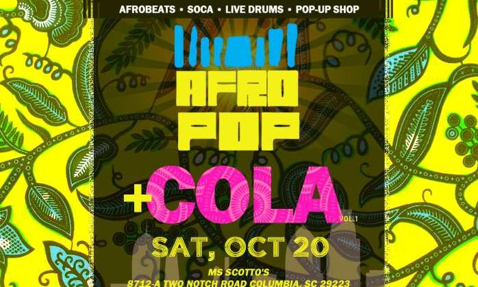 AfroPop! Columbia, Vol.1: Afrobeats, Soca, Fashion + Vendors