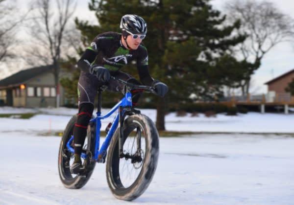 Fat-tire biking at Indian Trails 6