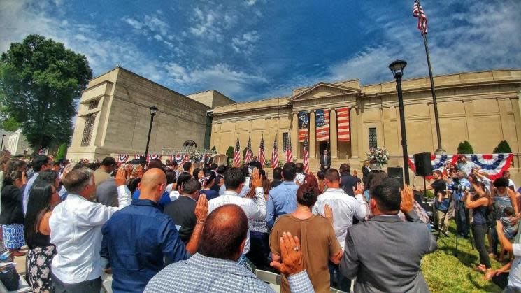 VMHC July 4th Naturalization Ceremony