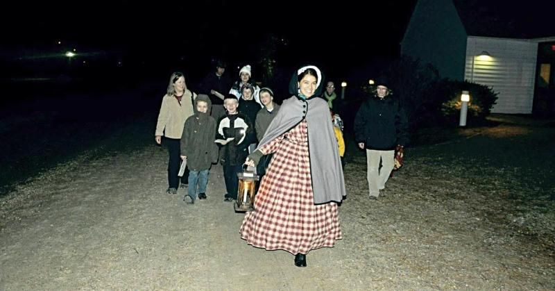 Holiday Lantern Tours at Meadow Farm Museum