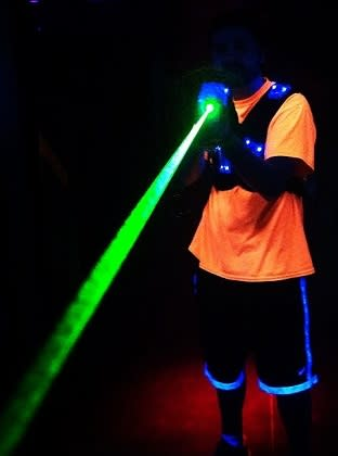 Lazer Tag is great family fun!