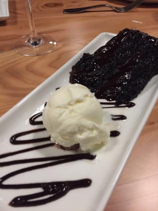 Chocolate Cake at WildFin American Grill