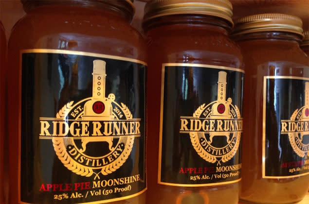 Ridge Runner Distillery Moonshine