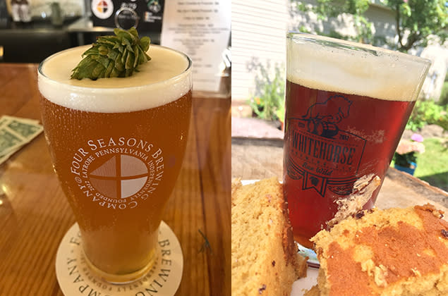Fall Craft Beers in the Laurel Highlands