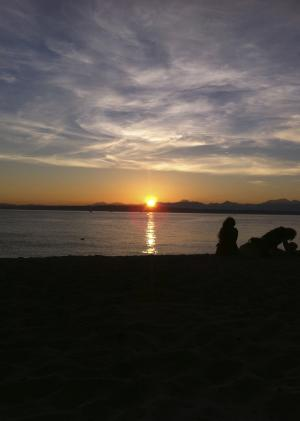 Best Places to Watch the Sunset Golden Gardens Park