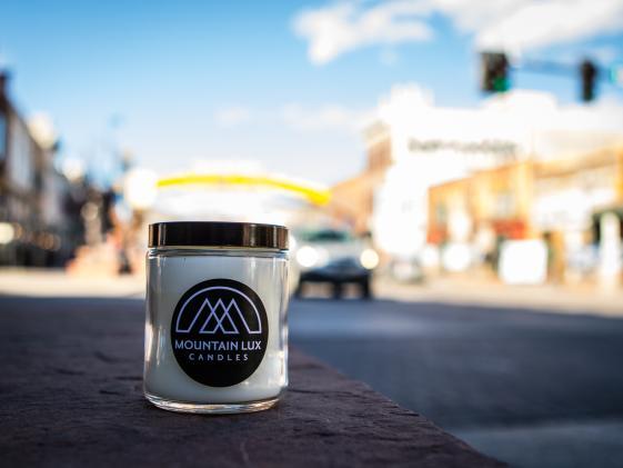 Mountain Lux Candle on Washington Ave