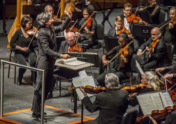 Austin Symphony Orchestra with Director