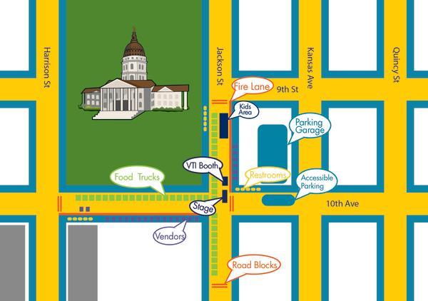 Capital City Family & Food Truck Festival map