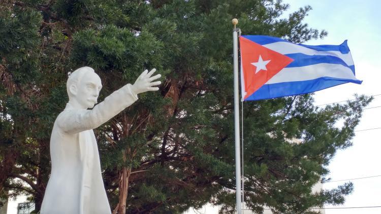 Marti Ybor Cuban Flag