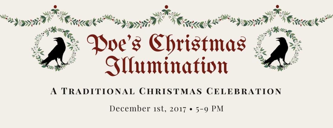 Poe Museum's Christmas Illumination