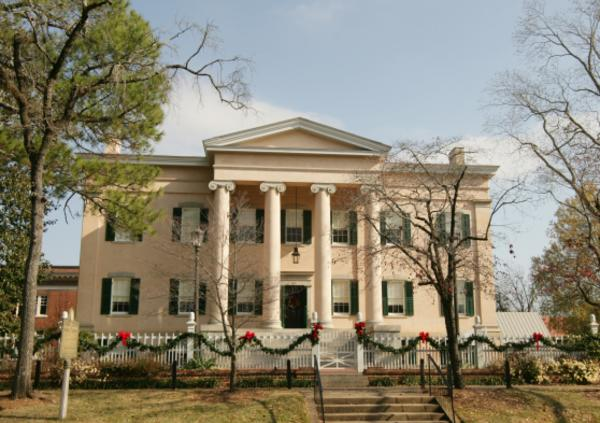 Old Governors Mansion-Milledgeville Baldwin County