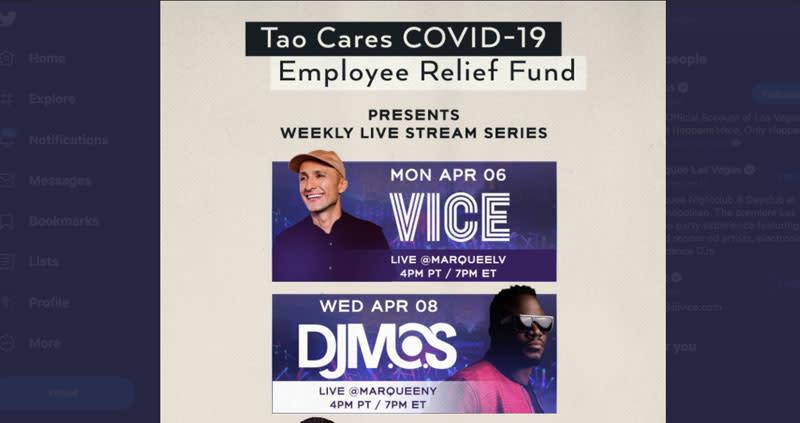 Tao Cares COVID-19 Fund