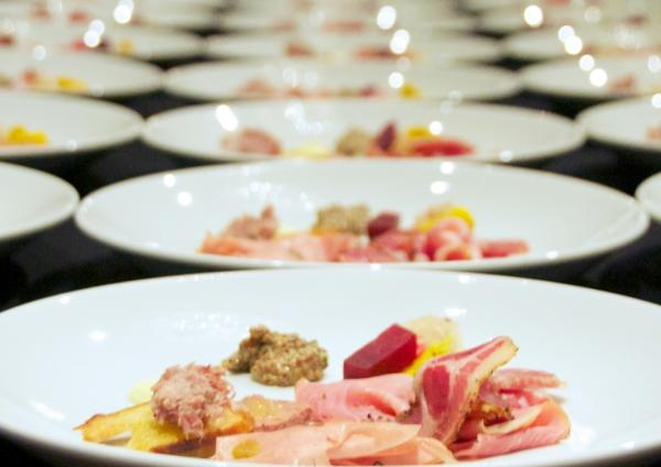 Grand Truffle Dinner by Langdon Cook