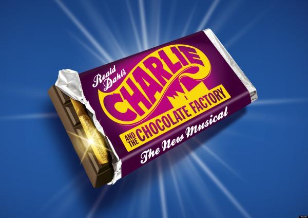 """Charlie Chocolate Factory"" Chocolate Bar"
