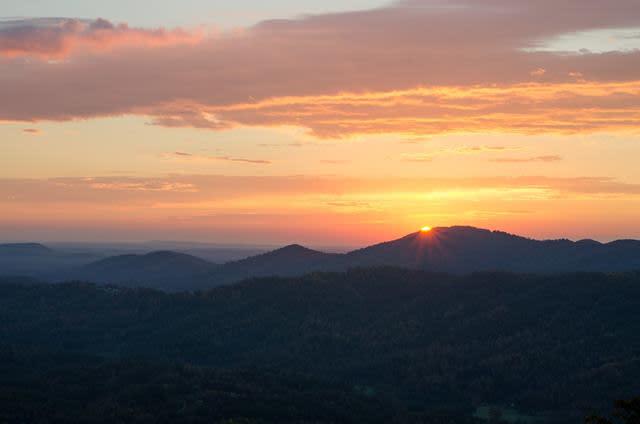 Roanoke Mountain Fall View - Fall Photo