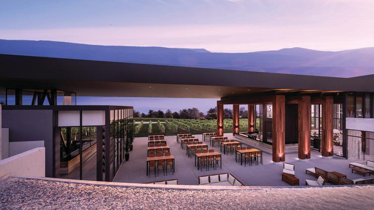 Concept Art for Restaurant, Wine Trails Profile Image