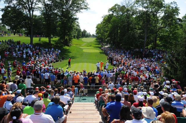 Memorial Tournament Golfer