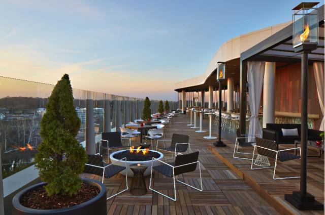 VASO Rooftop Lounge Outdoor Patio