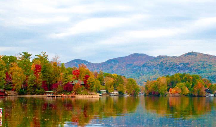 Fall Color Lake Tour