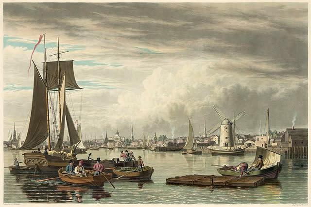 Early Boston Harbor