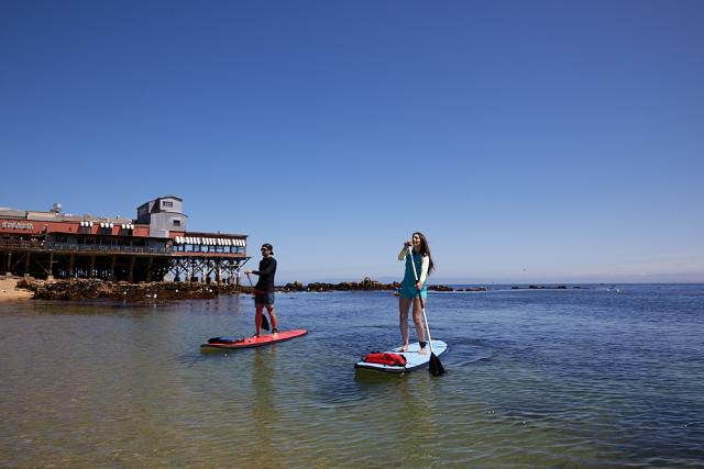 Kayaking at Cannery Row
