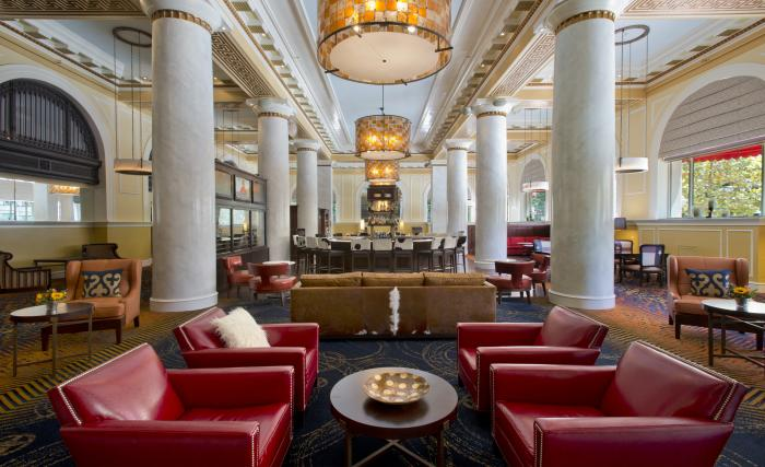 Hotel Icon Lobby in Houston