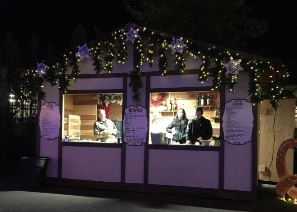 The Village Green Christmas Market Food by Hayley Radich
