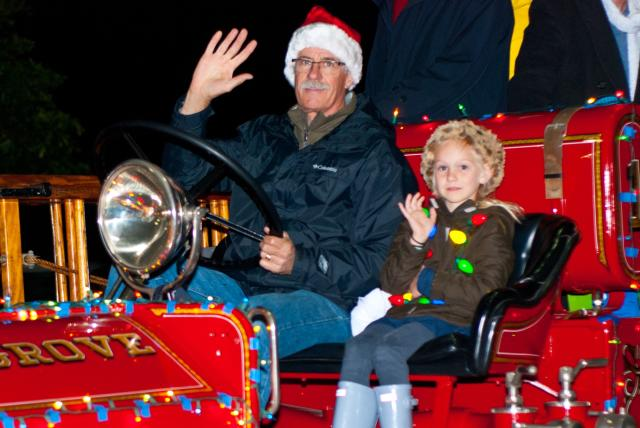 Parade of Lights Pacific Grove