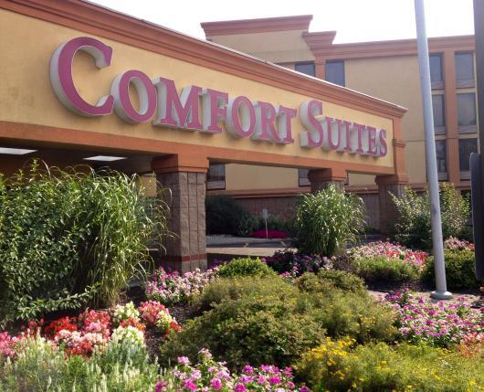 Allentown Comfort Suites New Exterior Shot