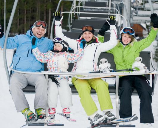 Family on Lift 2018