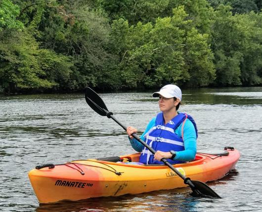 paddling the Lehigh