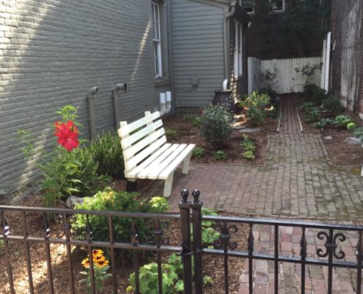 Kressler Garden alley