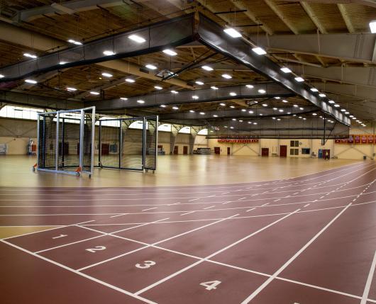 Kutztown University OPake Fieldhouse