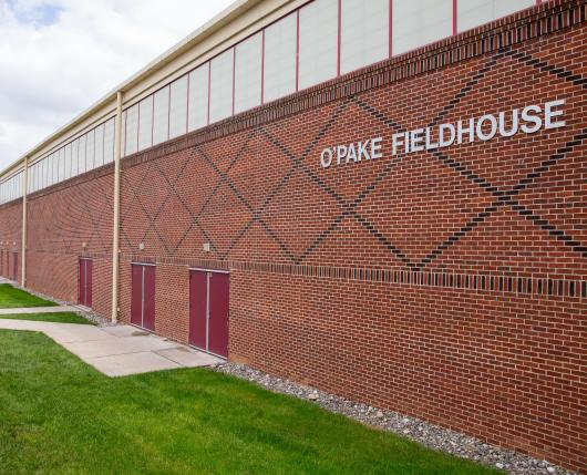 Kutztown University OPake Fieldhouse Exterior
