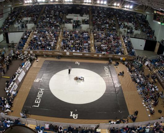 Lehigh Athletics - Stabler Arena Wrestling 02